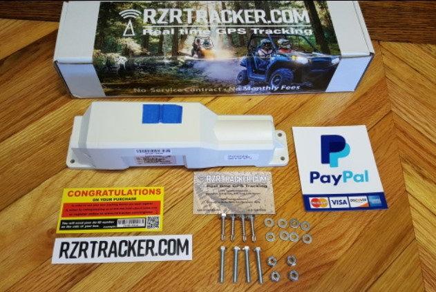 RZR-720 Weatherproof GPS Trailer Tracker
