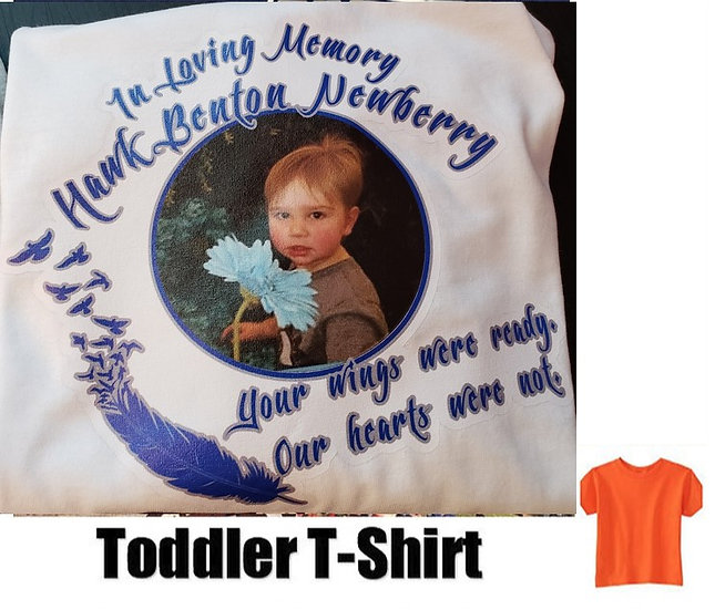 Hawk Newberry Memorial Photo T-Shirt *Toddler* #2  (color options)