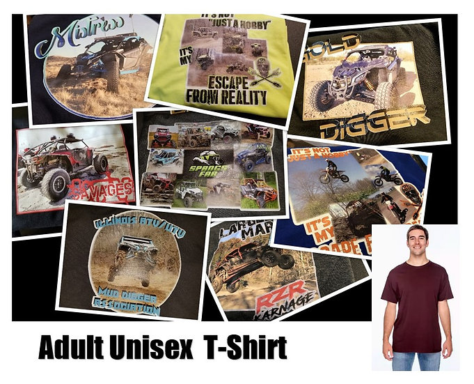 Customized Photo T-Shirt *Adult* - Show off your ride!