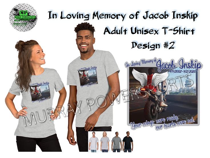 Jacob Inskip Memorial Adult Unisex T-Shirt (design 2)