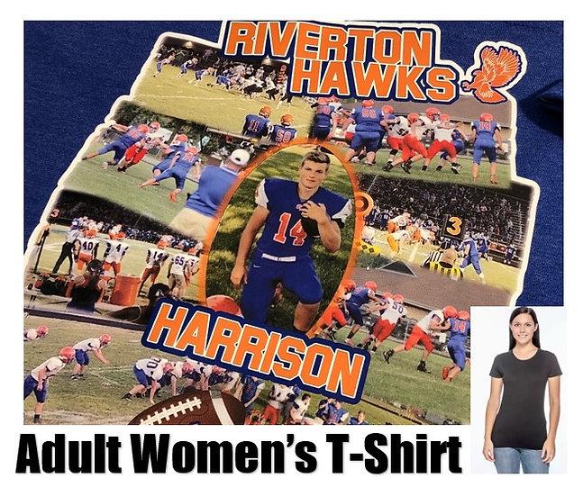 Customized Sports Photo T-Shirt *Women* - Show your team spirit!