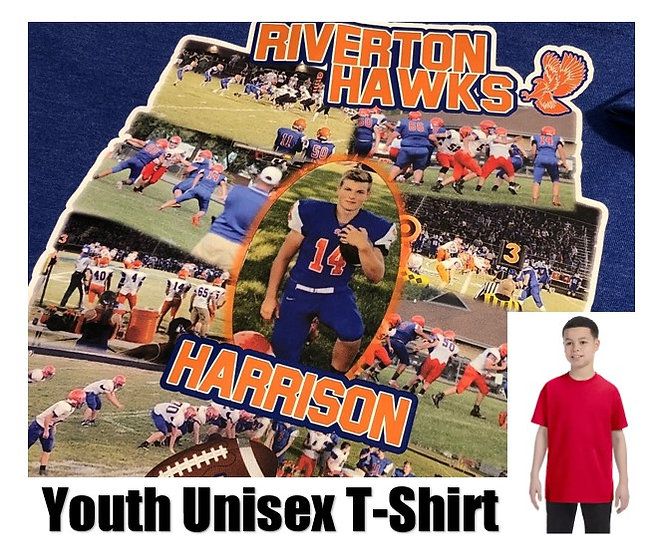 Customized Sports Photo T-Shirt *Youth* - Show your team spirit!