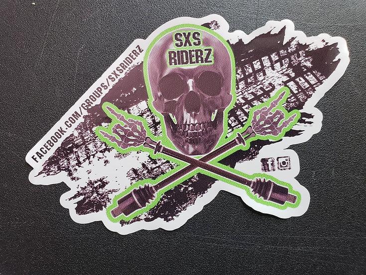 Ltd. Edition SXS RIDERZ Group Decal, Tread Design