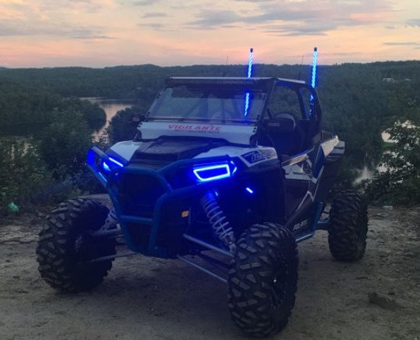 Polaris Halos - 900S, 1000XP, Ranger, General (+Options for Synced Rocklights)