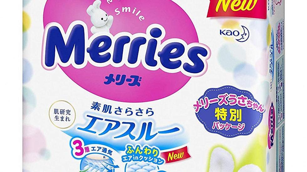 Merries diaper S size