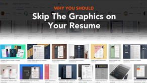 Why You Should Remove Graphics and Icons From Your Resume