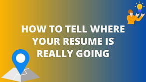 IR Blog Post How to Tell Where Your Resu