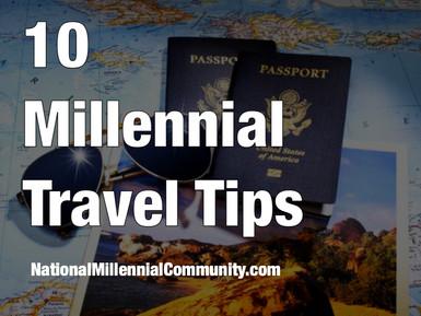 10 Millennial Travel Tips