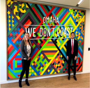Business Students Meet with Top Executives on Trip with National Millennial Community to Omaha, NE &