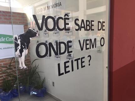 Você sabe de onde vem o leite?