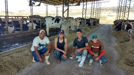 #EstagioDeFerias Fazenda Santa Rita