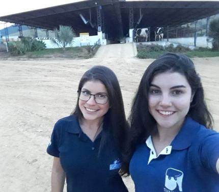 #EstagioDeFerias - Fazendas Reunidas, por Gleiciele Mendes e Ana Carolina Ribeiro