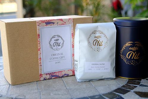 選べるコーヒー豆とキャニスター缶のセット