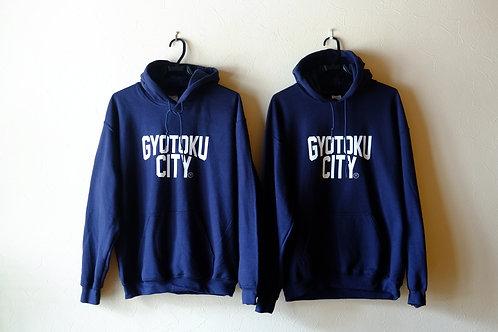 GYOTOKU CITY パーカー