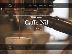 Caffè Nilのウェブサイトを開設しました