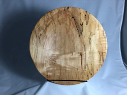 Spalted Maple Plate