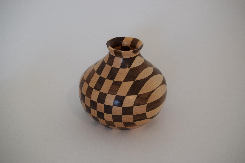 Checkerboard Vase