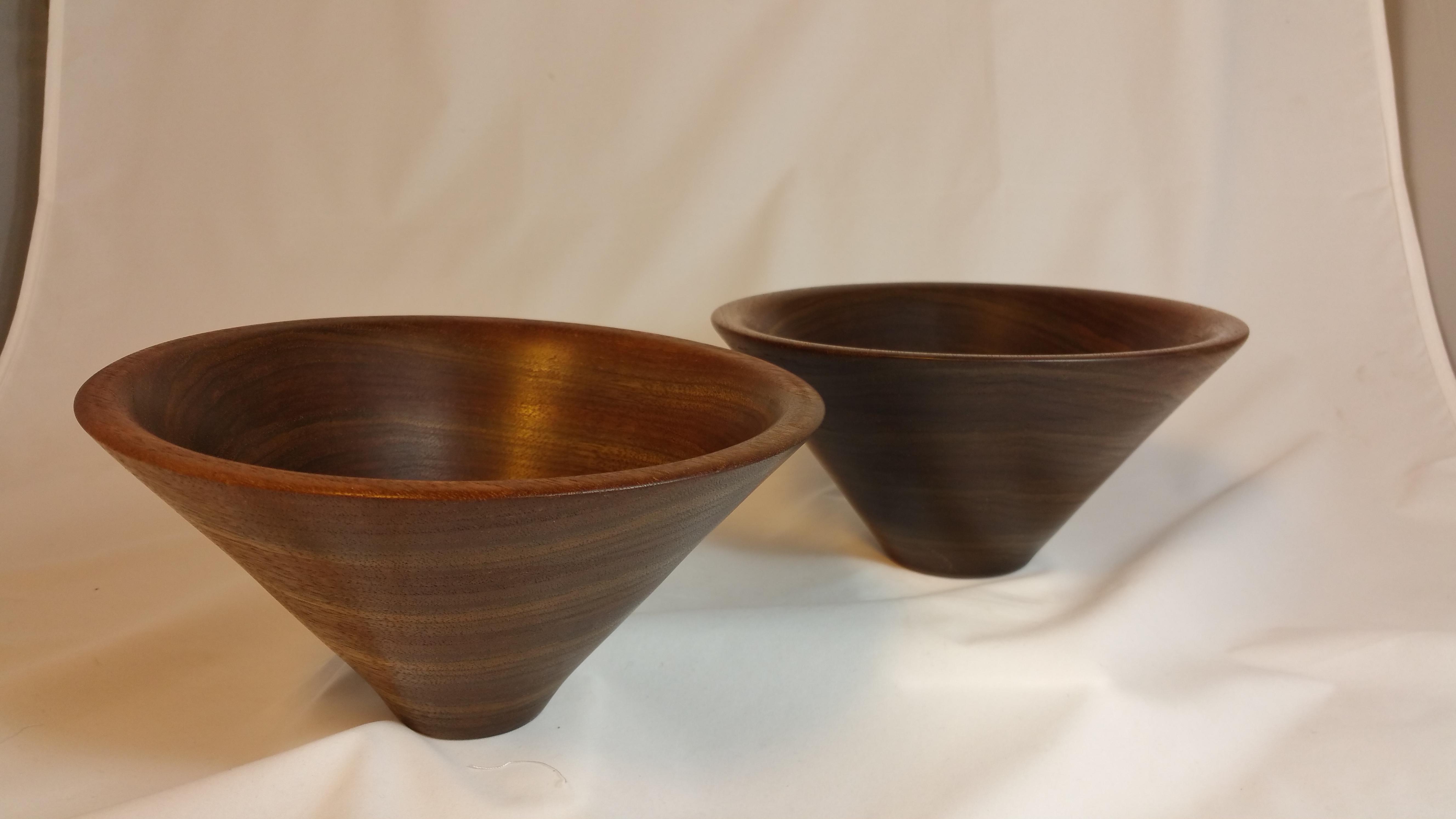 Walnut Bowls - Two Ways