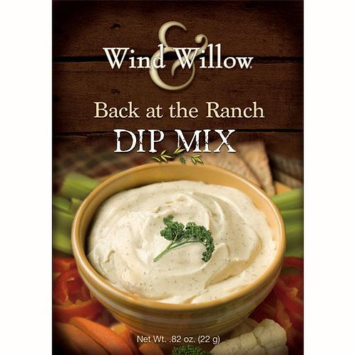 Wind & Willow- Back at the Ranch Dip Mix