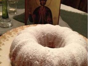 A Cake for St. Phanourios