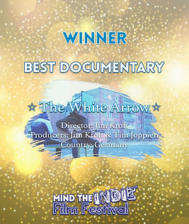 jim kroft, tim joppien, the white arrow, documentary, mind the indie, film festival, filmfreeway