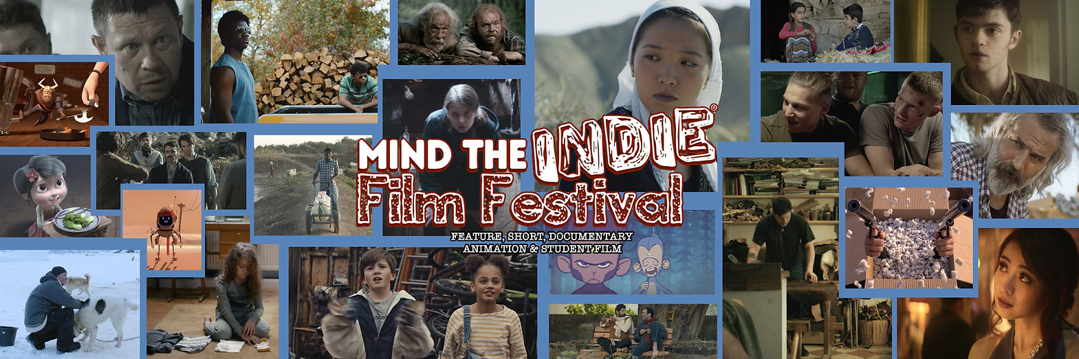mind the indie film festival, feature, documentary, short, student, animation, film