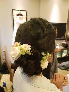Jolene Actual Day Wedding Hairstyle