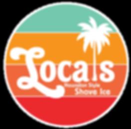 Locals Shave Ice Logo