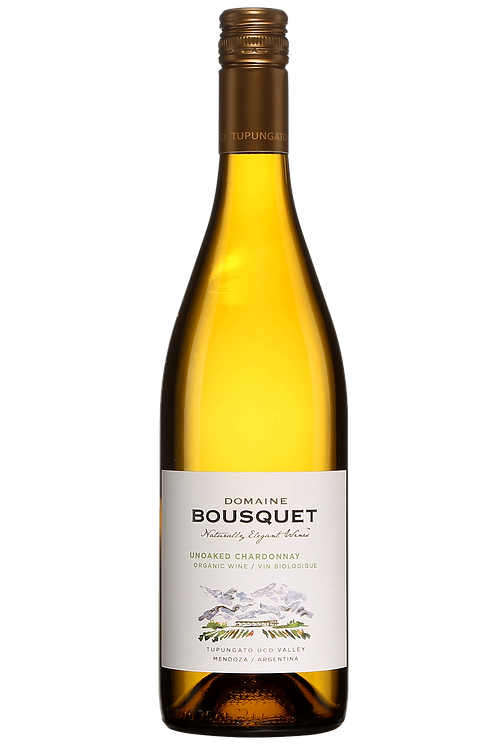 Domaine Bousquet Unoaked Chardonnay / Mendoza 2020