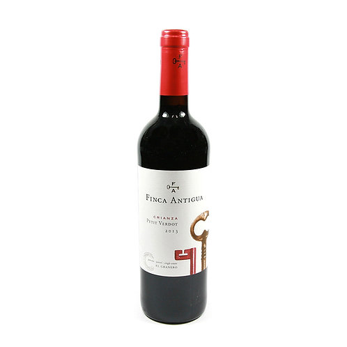 Vinho Tinto Finca Antigua 2016 Petit Verdot Crianza  / D.O. La Mancha750 ml