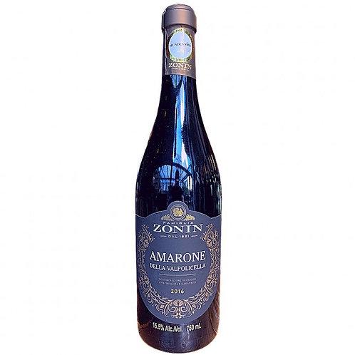 Vinho Tinto Famiglia Zonin Amarone Della Valpolicella /D.O.C Itália 2016