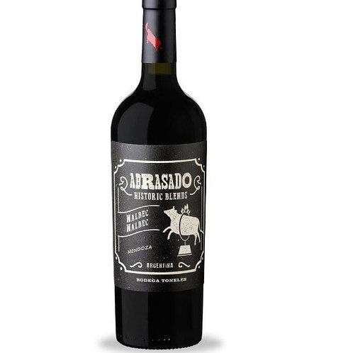 Vinho Tinto Abrasado Historic Blends Malbec / Mendoza Argentina 2017
