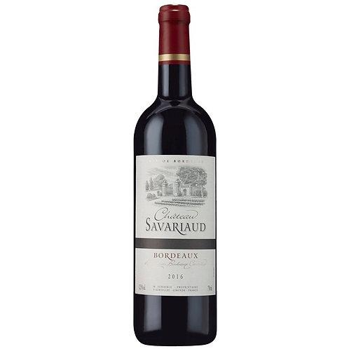 Vinho Tinto Château Savariaud / A.O.C Bordeaux França 2016