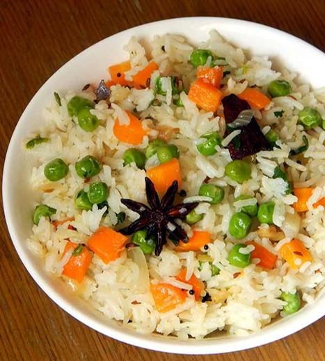 Pulao du riz