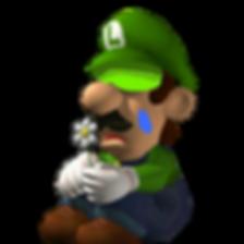 Luigi sad