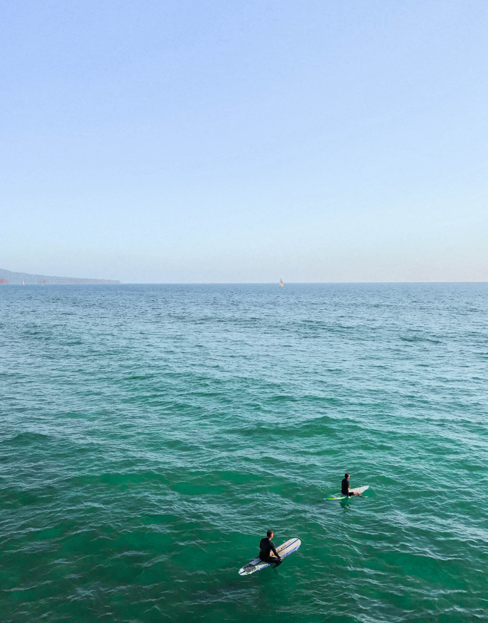 Surfers and Ocean_Carris Bennett Christianson