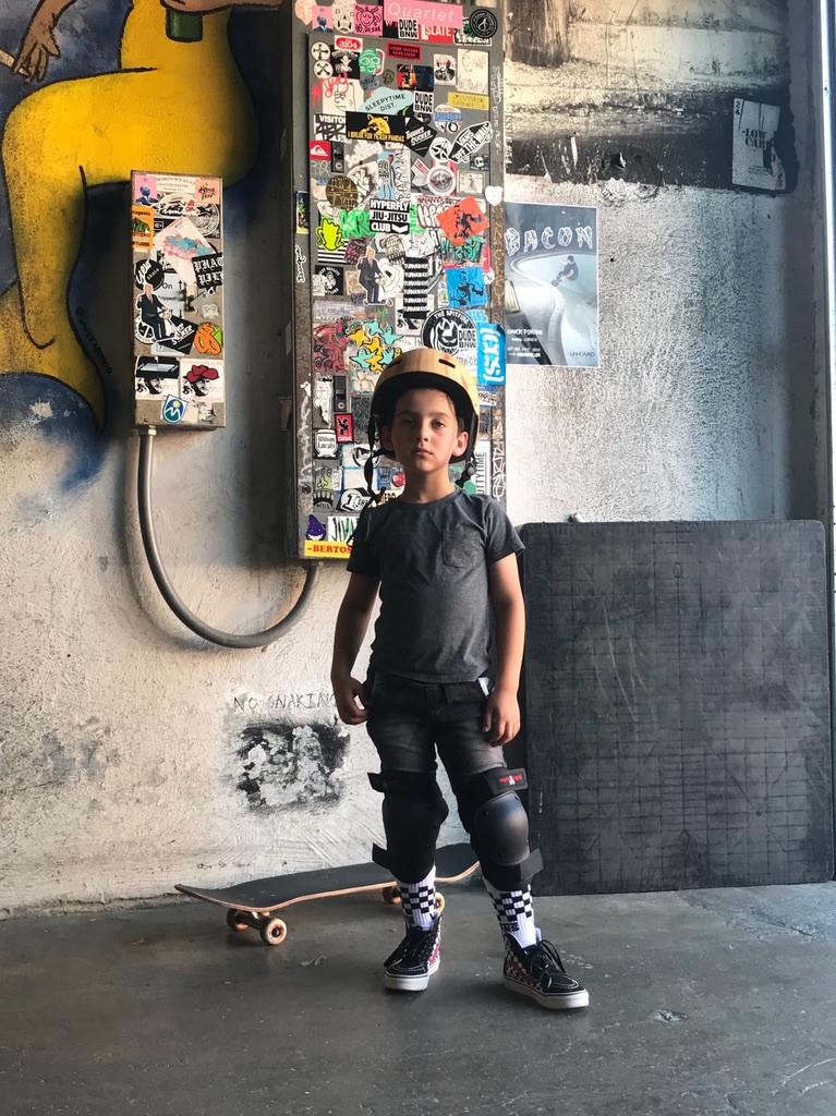A Boy and His Skateboard_Carris Bennett Christianson