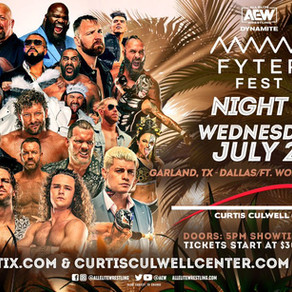 Diffusing Dynamite July 21: Fyter Fest Night Two