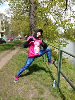 Bieg kobiet Wrocław - Zawsze Pier(w)si