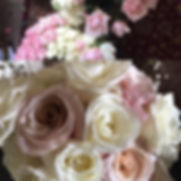 Making bouquets for today's Wedding!!!!_