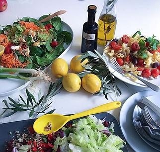 Delicious Mediterranean food