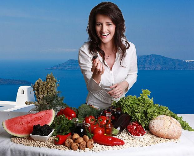 Dimitra Papamichou, Nutritionist, Mediterranean diet