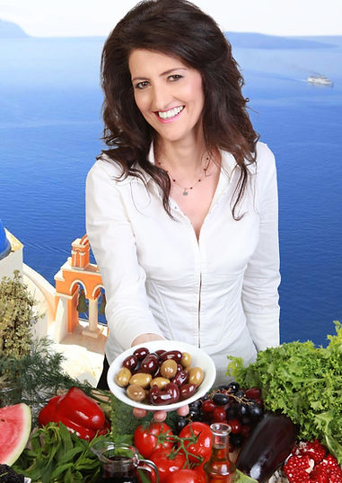 Dimitra Papamichou Registered Nutritionist specialised in the Mediterranean diet