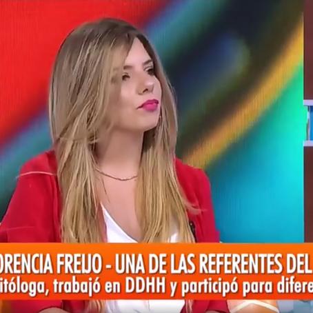 Florencia Freijo aporta datos y definiciones sobre feminismo en Intrusos