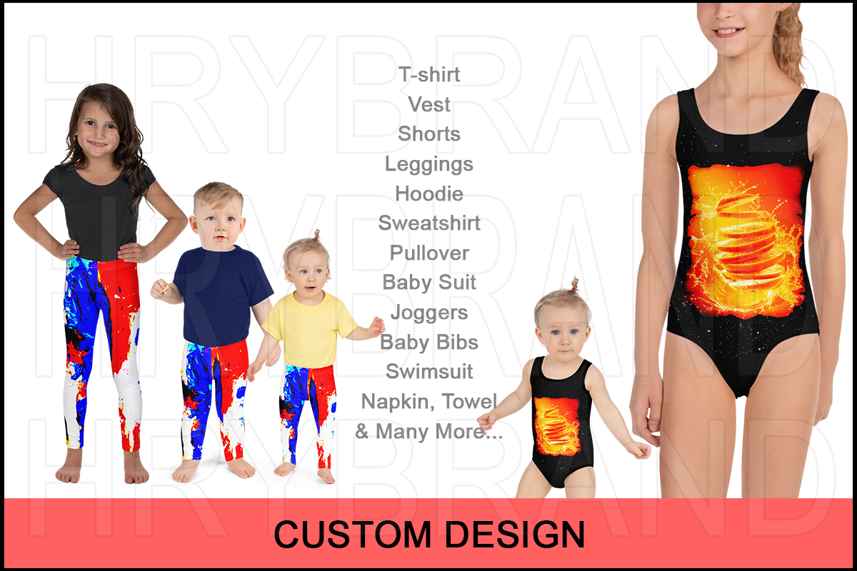 CUSTOM DESIGN FOR KIDS