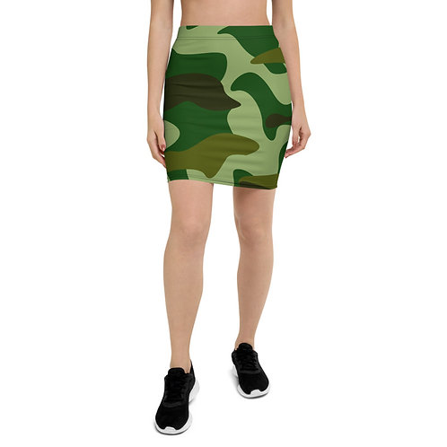 PS42 - MILITRY GREEN PRINT FOR PENCIL SKIRTS TEMPLATE FILE