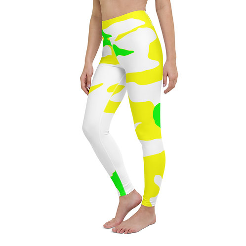 Y063 - CAMOUFLAGE ALL OVER YOGA LEGGINGS PRINTFUL TEMPLATE FILE