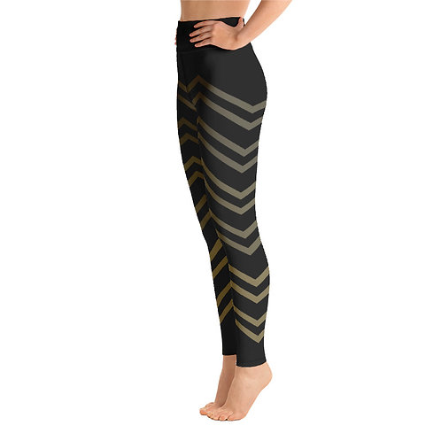 Y074 - ZIGZAG STRIPES PRINT FOR ALL OVER YOGA LEGGINGS PRINTFUL TEMPLATE FILE