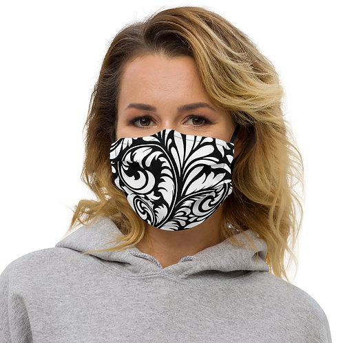 M099 - MANDALA ALL OVER PRINT MASK PRINTFUL TEMPLATE FILE