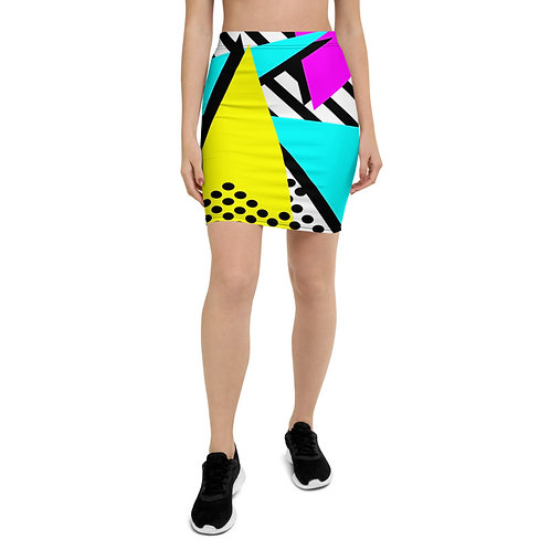 PS33 - POPART COLORS PRINT FOR PENCIL SKIRTS TEMPLATE FILE